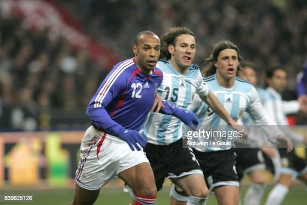 Thierry HENRY France / Argentine Match amical Stade de France Saint Denis
