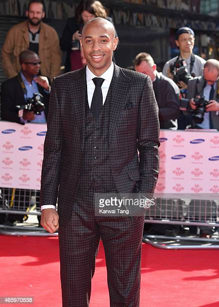 Thierry Henry attends The Prince's Trust Celebrate Success Awards at Odeon Leicester Square on March 12 2015 in London England