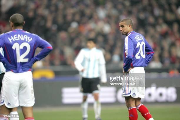 Thierry HENRY / David TREZEGUET France / Argentine Match amical Stade de France Saint Denis