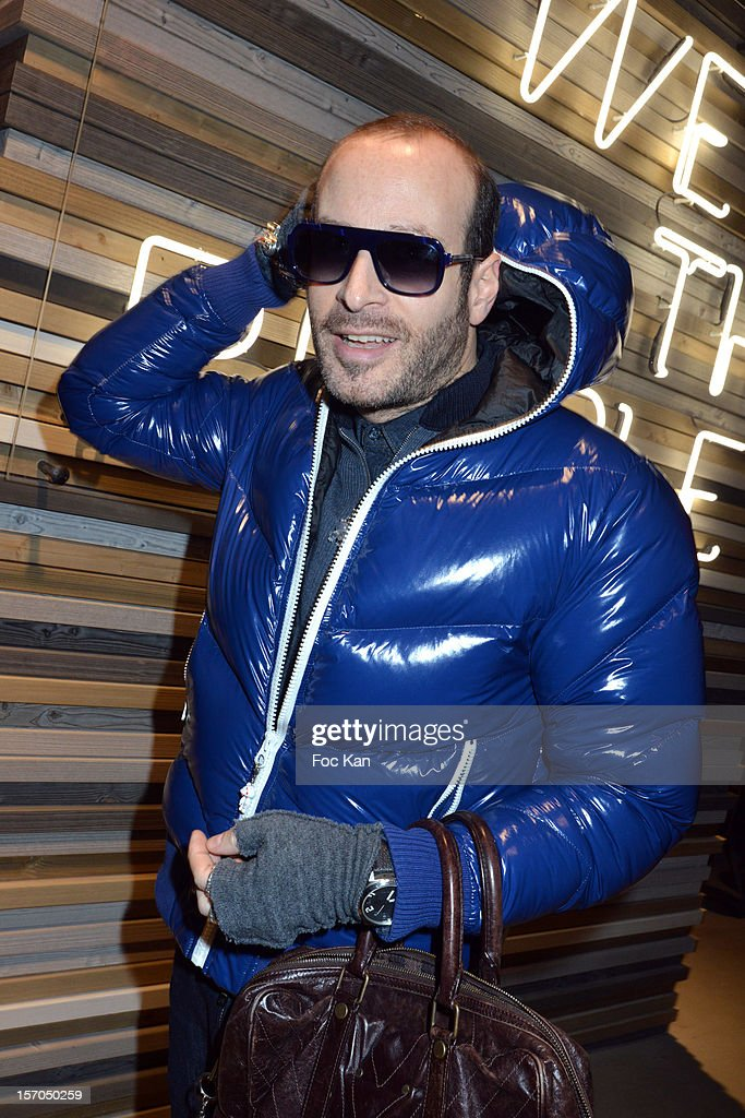 Thierry Lasry attends the MCS 'We The People' launch party at MCS Champs Elysees on November 27, 2012 in Paris, France.