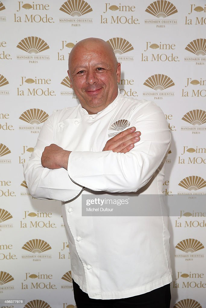 <a gi-track='captionPersonalityLinkClicked' href=/galleries/search?phrase=Thierry+Marx&family=editorial&specificpeople=4584729 ng-click='$event.stopPropagation()'>Thierry Marx</a> attends 'J'aime La Mode 2014' party in Mandarin Oriental as part of the Paris Fashion Week Womenswear Spring/Summer 2015 on September 29, 2014 in Paris, France.