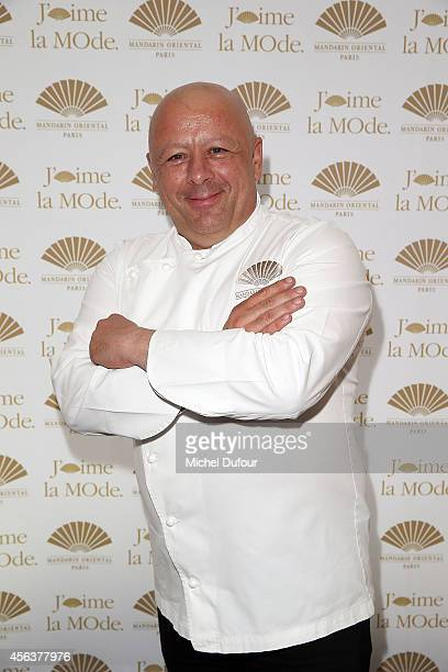 Thierry Marx attends 'J'aime La Mode 2014' party in Mandarin Oriental as part of the Paris Fashion Week Womenswear Spring/Summer 2015 on September 29...
