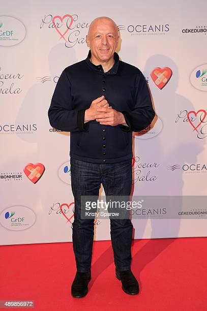 Thierry Marx attends the 'Par Coeur' Gala To Benefit CKDB Ce Ke Du Bonheur Association at Pavillon d'Armenonville on September 24 2015 in Paris France