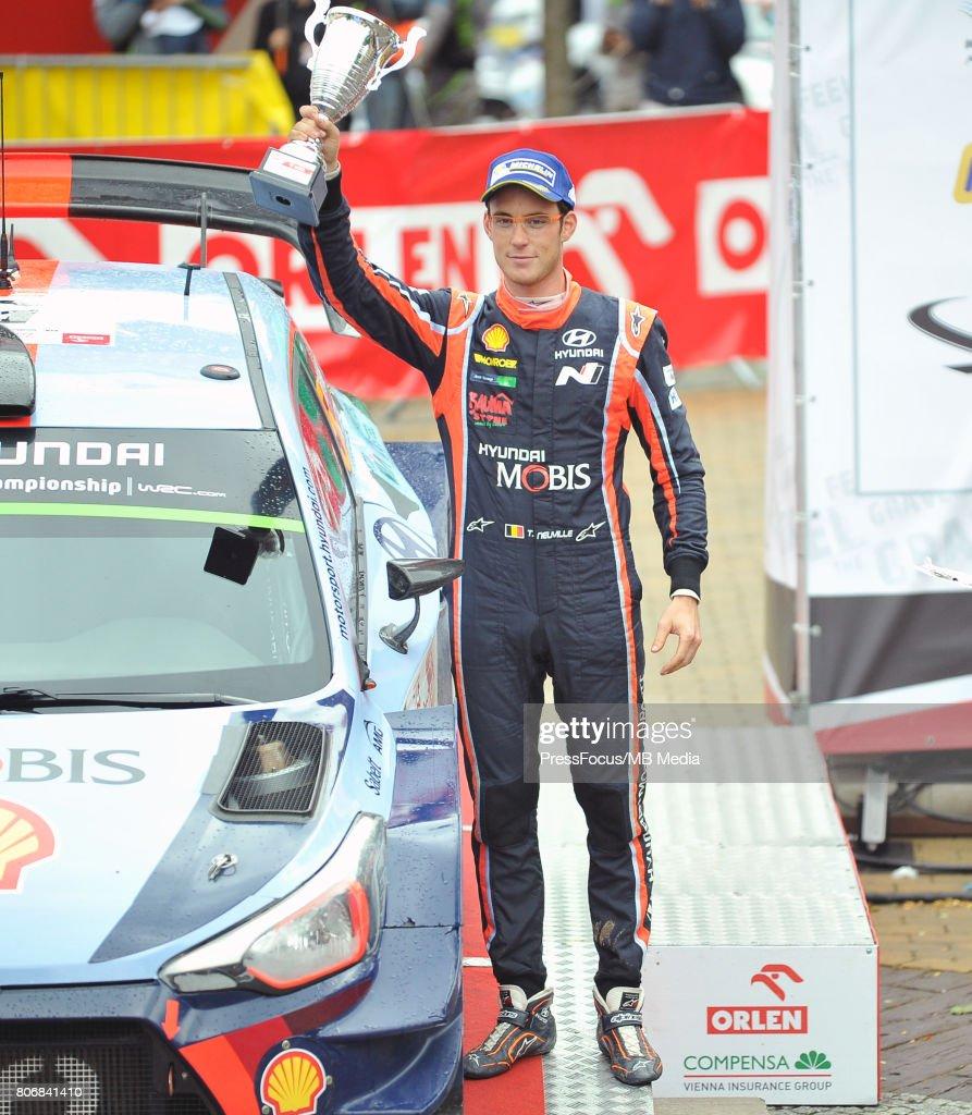 Thierry Neuville BEL Hyundai Motorsport during the WRC Orlen 74 Rally Poland Ceremonial Finish on July 02, 2017 in Mikolajki, Poland.