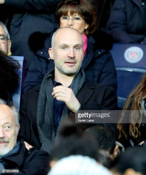 Thierry Omeyer attends the French Cup SemiFinal match between Paris SaintGermain and As Monaco at Parc des Princes on April 26 2017 in Paris France