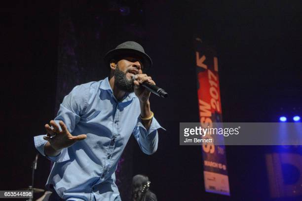 Thievery Corporation perform live at the We DC showcase during the SxSW Music Festival at the Moody Theater on March 14 2017 in Austin Texas