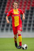 Thijs Dekker during the team presentation of Go Ahead Eagles on July 15 2016 at the Adelaarshorst Stadium in Deventer The Netherlands