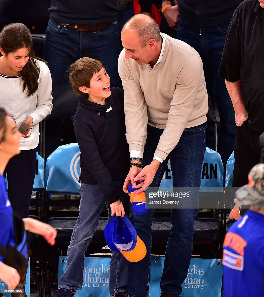 Celebrities Attend The Philadelphia 76ers Vs New York ...