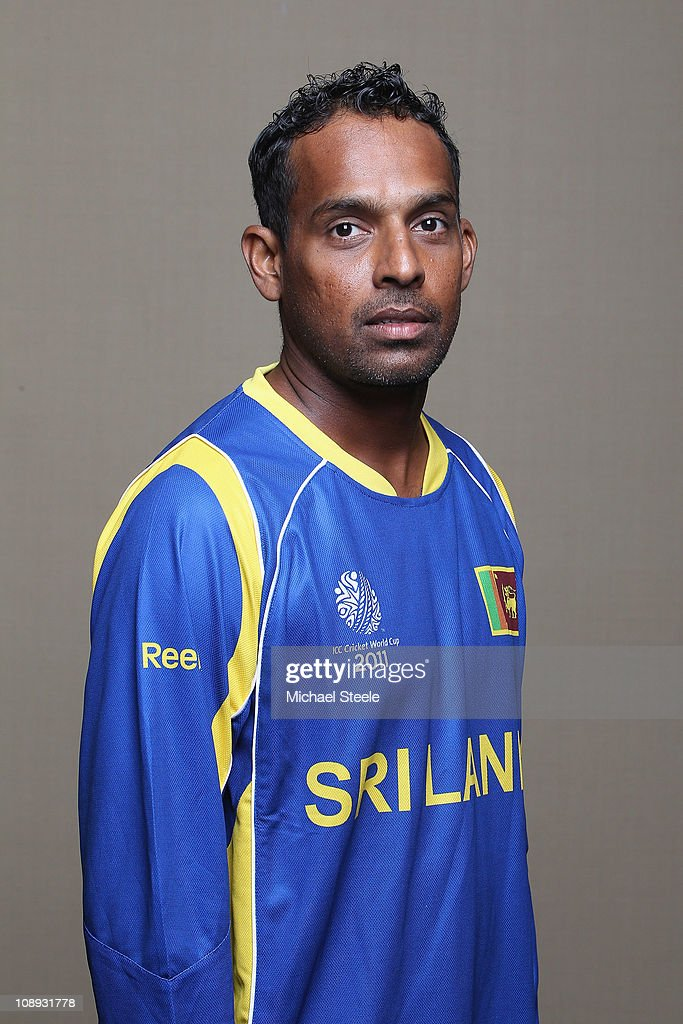 Thilan Samaraweera of Sri Lanka ahead of the 2011 ICC World Cup at the Hilton Hotel on February 9 2011 in Colombo Sri Lanka