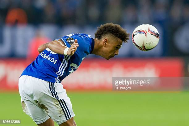 Thilo Kahrer of FC Schalke 04 in action during the Europa League First Qualifying Round 2nd Leg match between FC Schalke 04 and OGC Nice at...