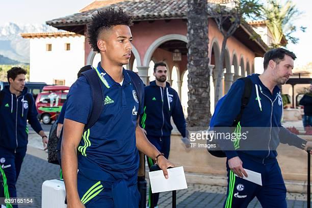 Thilo Kehrer of Schalke before the Training Camp of FC Schalke 04 at Hotel Melia Villaitana on January 04 2017 in Benidorm Spain
