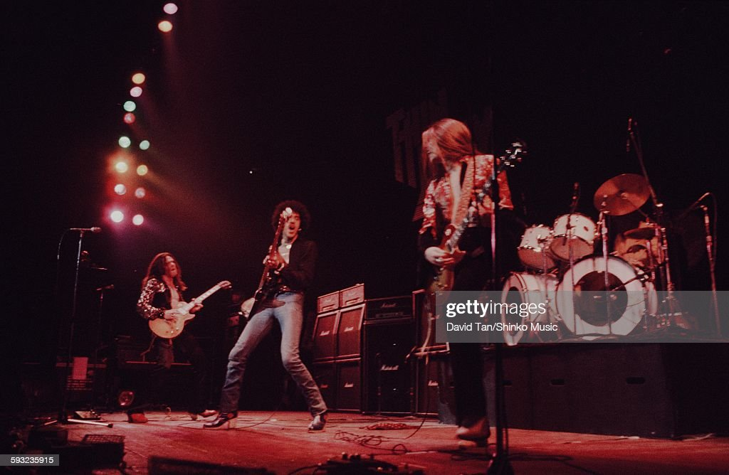Thin Lizzy in a live show in the United States unknown 1979