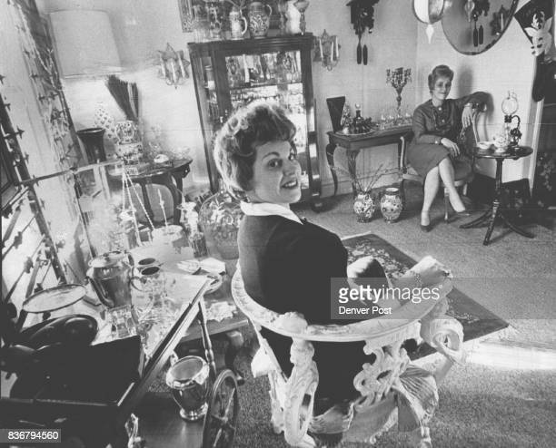 JAN 1 1962 'Things Unlimited' is a New Shop in an Old East Denver House Mrs Nikki Kramer left and Mrs Mickey Weisbart are housewives who accidentally...