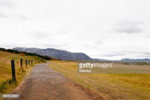 Thingvellir Nationalpark, Island : Stock-Foto
