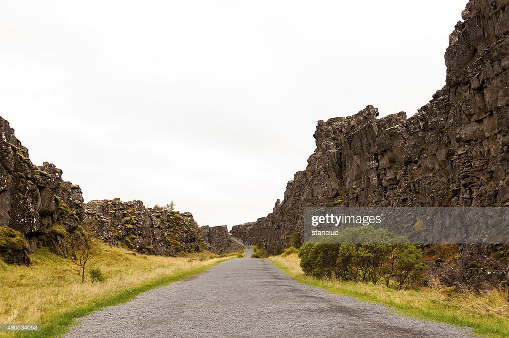 Thingvellir national park, Iceland : Stockfoto