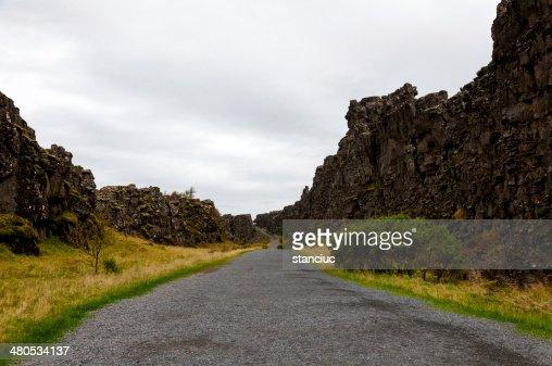 シングヴェトリル国立公園、アイスランド : ストックフォト