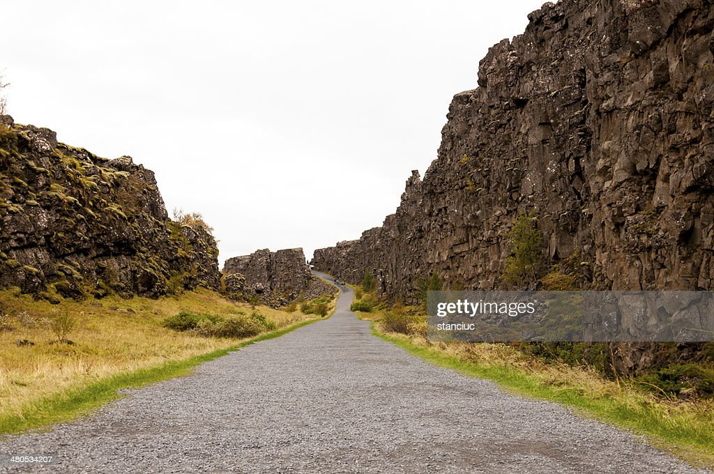 Thingvellir national park, Iceland : Stockfoto