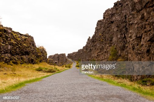 Thingvellir national park, Iceland : Stock Photo