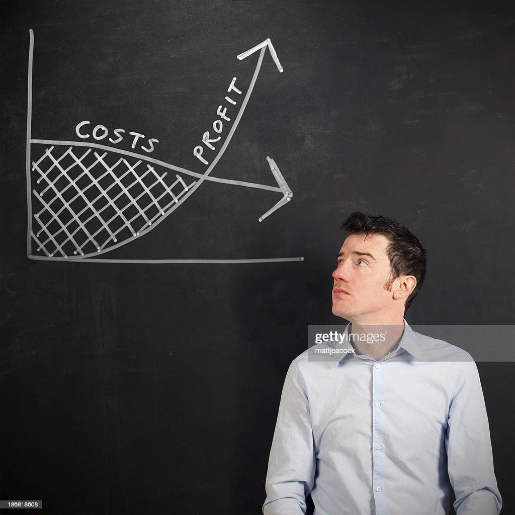 Denken business : Stock-Foto