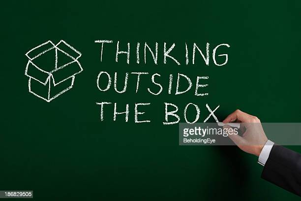 Denken Sie außerhalb der Box-XL