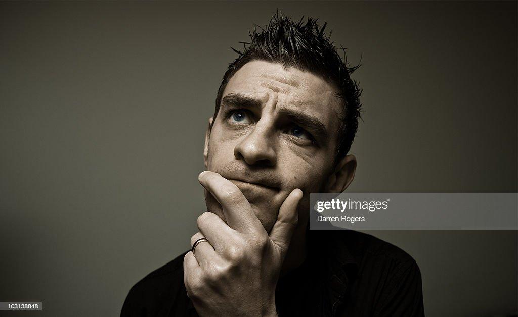 Thinking : Stock Photo