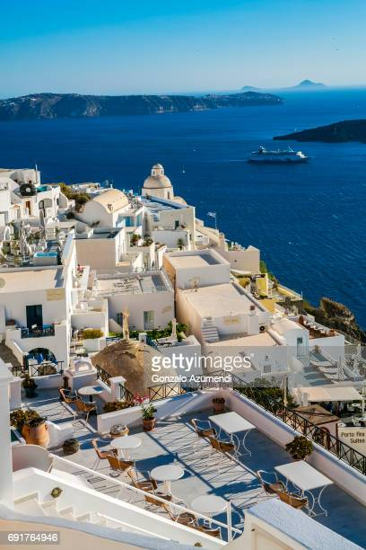 Thira in Santorini Island