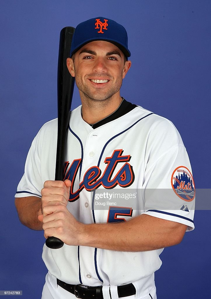 Third baseman <a gi-track='captionPersonalityLinkClicked' href=/galleries/search?phrase=David+Wright+-+Baseball+Player&family=editorial&specificpeople=209172 ng-click='$event.stopPropagation()'>David Wright</a> #5 of the New York Mets poses during photo day at Tradition Field on February 27, 2010 in Port St. Lucie, Florida.