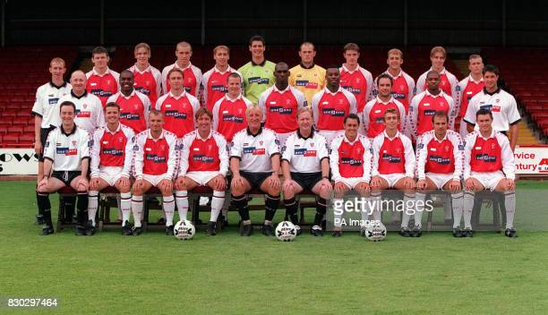 Third Division Rotherham United at the Millmore Stadium * Back Row Alan Knill Lee Glover Andy Monkhouse David Artell Rob Scott Mike Pollitt Paul...