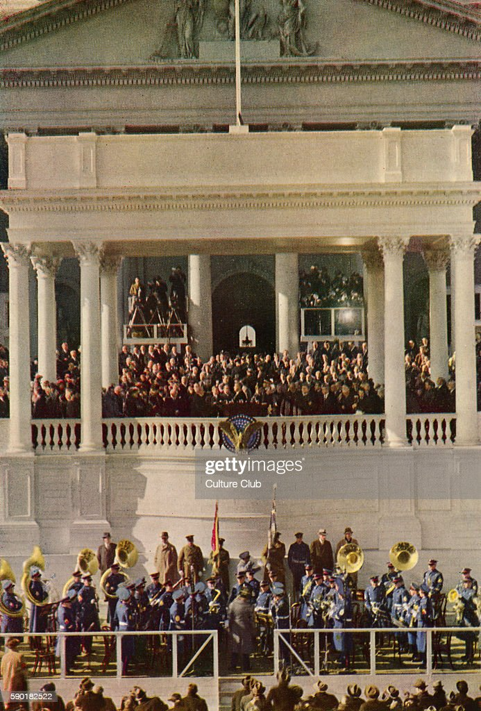 Third Inauguration of Franklin D Roosevelt United States Capitol Washington 20 January 1941 The inauguration marked the commencement of the third...