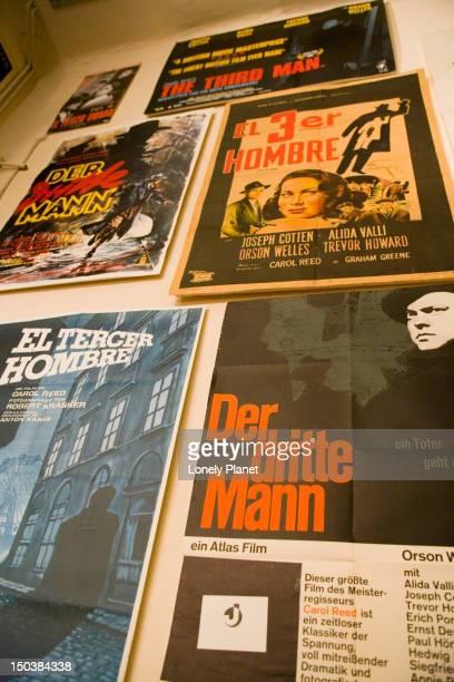 Third Man posters at Third Man Museum.