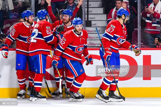 Third Montreal Canadiens goal scored by Montreal Canadiens Center Jonathan Drouin his first with the Montreal Canadiens during the Toronto Maple...