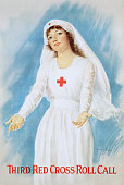 Third Red Cross Roll Call Poster by Haskell Coffin