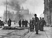 Third Reich burning of the Reichstag The Reichstag building on the morning of Also available in color Image Number 622566