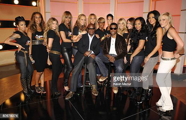 NEW YORK SEPTEMBER 05 *EXCLUSIVE* Thirteen of the most talented female performers joined together on the stage at Fashion Rocks to sing 'Just Stand...