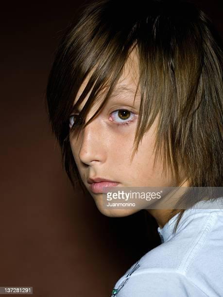 Treize ans garçon Caucasien