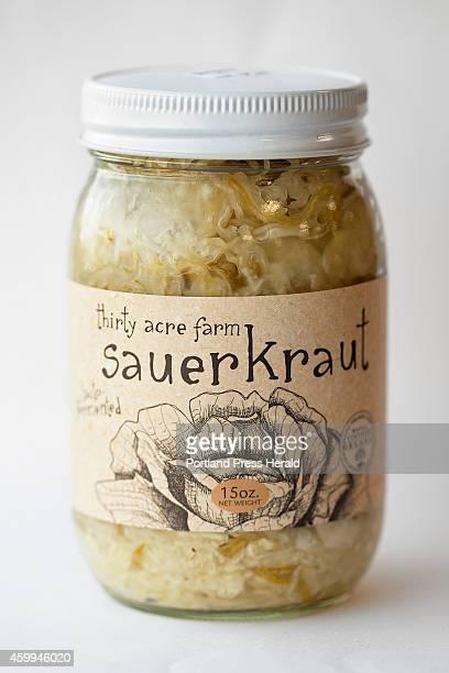 Thirty Acres Farm sauerkraut photographed on Tuesday September 2 2014