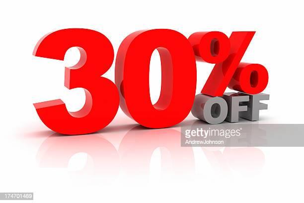 Thirty Percent Off