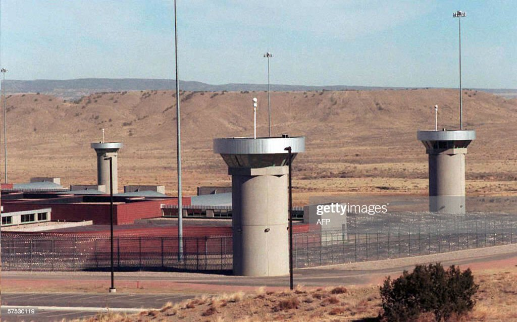 This 02 February file photo shows the supermaximumsecurity federal prison in Florence Colorado AlQaeda plotter Zacarias Moussaoui is now headed for...