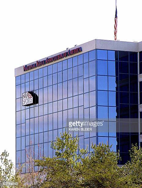This 06 April 2005 photo shows National Rifle Association headquarters in Fairfax Virginia For more than 125 years the NRA has provided generations...