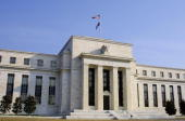 This 19 March 2005 photo shows the US Federal Reserve in Washington DC On 23 December the Federal Reserve System which serves as the nation's central...