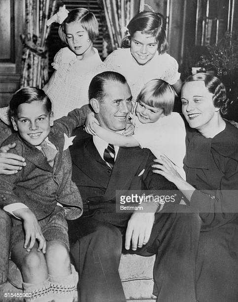 This 1935 family portrait reveals film actress Grace Kelly as she appeared at the age of five Little did she or anyone else for that matter dream...