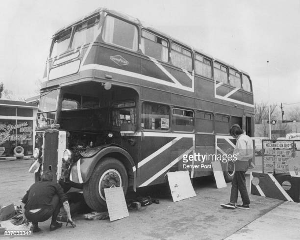 This 26Footlong DoubleDeck Bus has been 'Home' to the Touring Britons for 27 months The British flag was painted on the bus in Singapore as an...