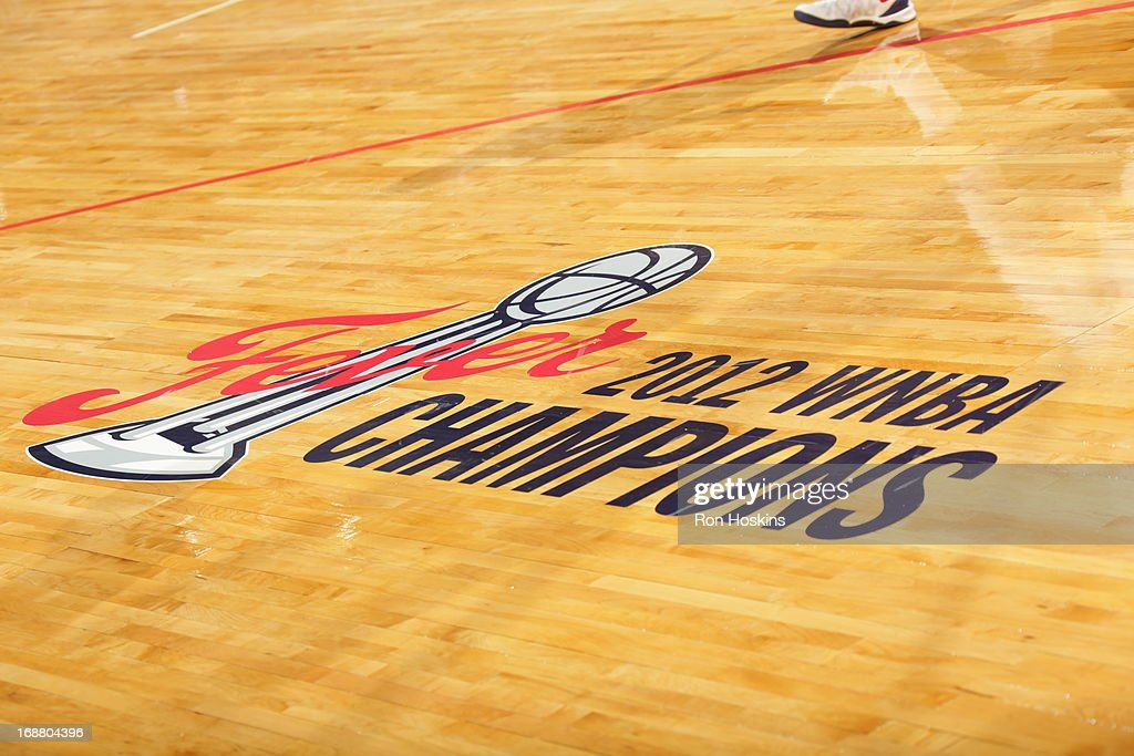 This a new look on the floor of the Indiana Fever as they took on the San Antonio Silver Stars on May 13, 2013 at Bankers Life Fieldhouse in Indianapolis, Indiana.