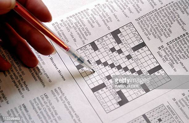 This April 18 2011 photo shows the April 17 Sunday Washington Post crossword puzzle The Washington Post crossword puzzle had special meaning this...