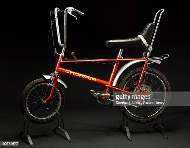 This bicycle made by T I Raleigh Industries Ltd at the Lenton Boulevard works in Nottingham was specially designed for young people By deliberately...