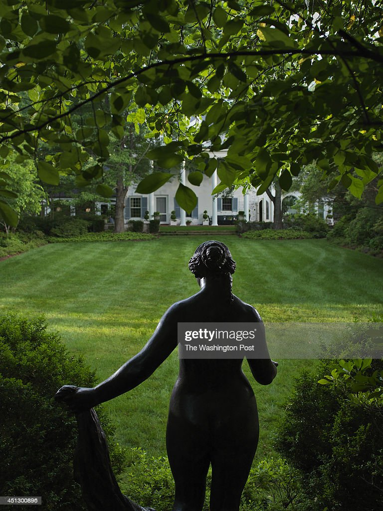This bronze sculpture by PierreAuguste Renoir resides in the back yard of William Paley's McLean VA home