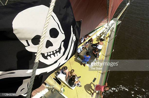 This bunch of seadogs set sail each day from Georgetown on a twohour voyage sharing the rich treasure of South Carolina pirate lore and legend and...