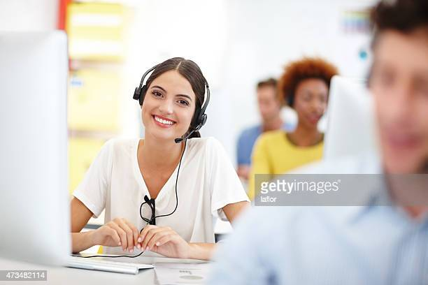 This call center outshines the rest