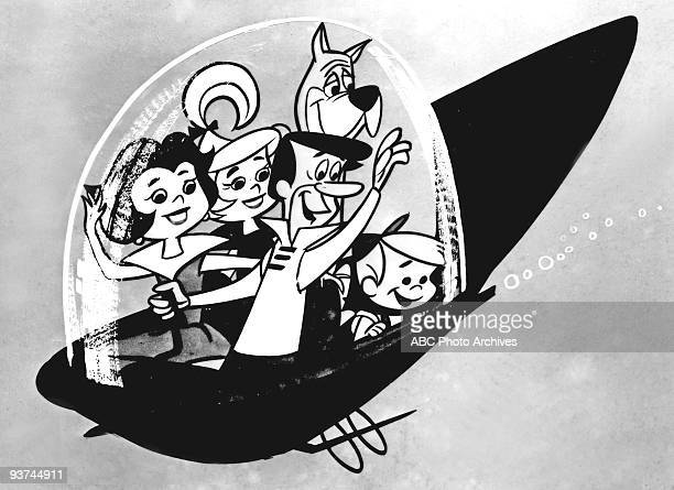 JETSONS 9/23/62 This cartoon series was about a middleclass family of the future George Jetson worked for Spacely Space Sprockets Inc commuting to...