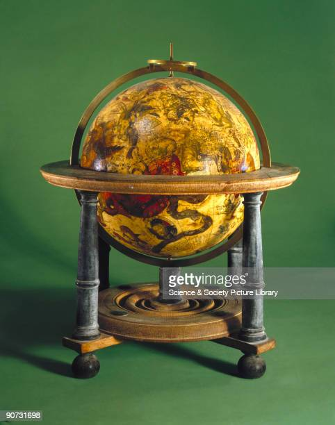 This celestial globe was made by Petrus Plancius in Amsterdam Holland The Dutch were the first to make printed globes in large numbers and introduced...